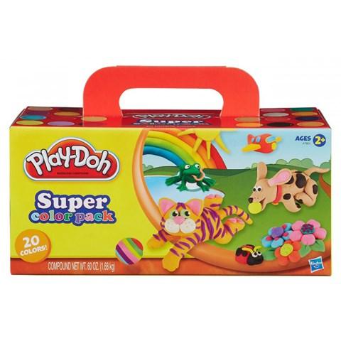 Đồ chơi đất nặn bột nặn 20 màu A7924 - Play Doh