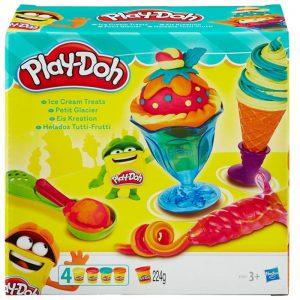 Đất nặn Play-Doh dụng cụ làm kem đơn giản B1857