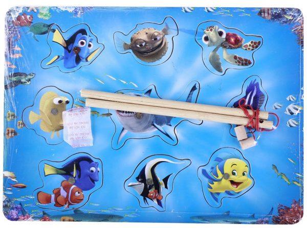 Đồ chơi gỗ câu cá cd401
