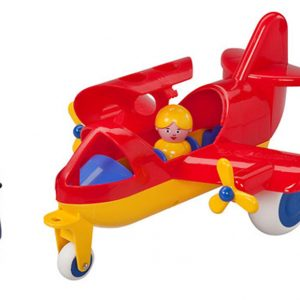 do choi may bay tu nhan 30cm Viking Toys 1